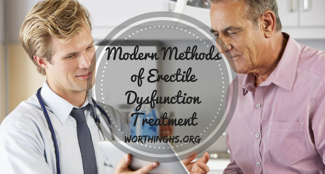 Modern Methods of Erectile DysfunctionTreatment